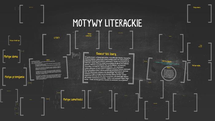 Motywy literackie matura pdf
